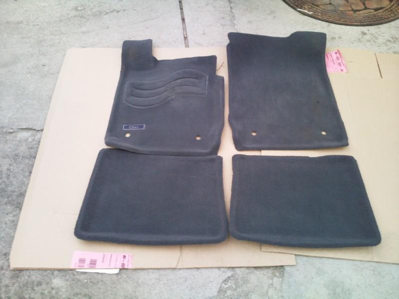 tapis clio 2 phase 2