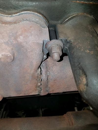 exhaust manifold repair technical