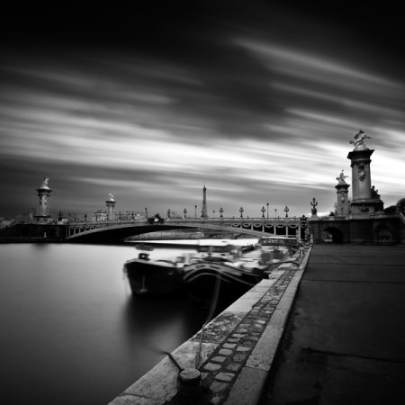 Paris :: a long exposure/b&w photo gallery by Damien Vassart