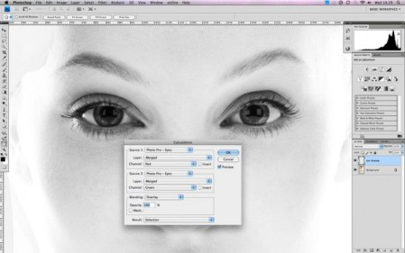 Retouching eyes in photoshop – a tutorial