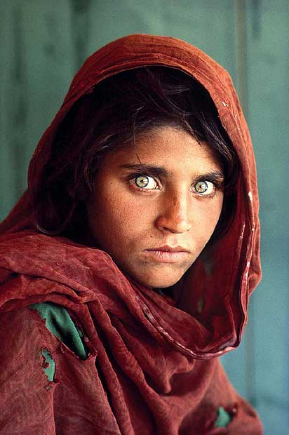 Exerpts from a retrospective of Steve McCurry's photos
