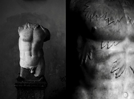 Mineral – black and white photos of statues and cemeteries by Cedric Lefebvre