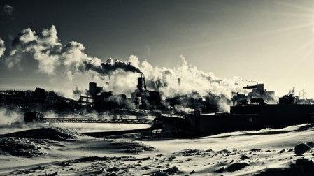 INDUSTRIAL :: black and white photos by Meriol Lehmann