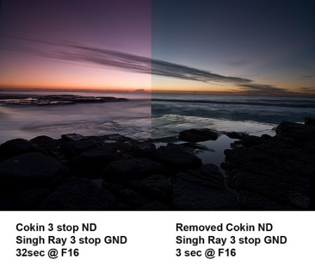 How neutral is a Cokin Neutral Density Filter? Not very.