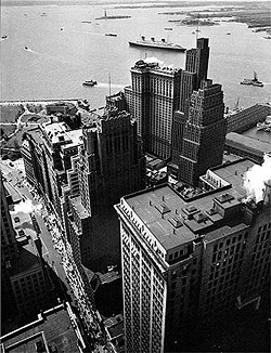 New York's changing cityscapes – the 1930s vs. 1990s