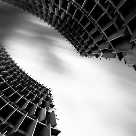 architecture – long exposure black and white photos by Kevin Saint Grey