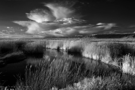 In a Different Light: Infrared photos of the Great Salt Lake by Jeff Clay