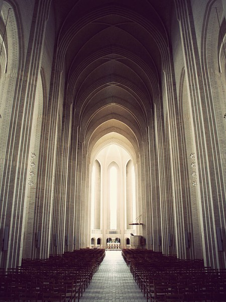 Grundtvigs Church – architectural photos by Kim Høltermand