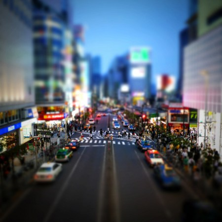 It's a Small World – tilt shift urban photos by Takahiro Yamamoto
