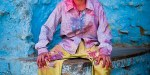 Colourful images from Holi festivals in northern India - travel photography by Gavin Gough