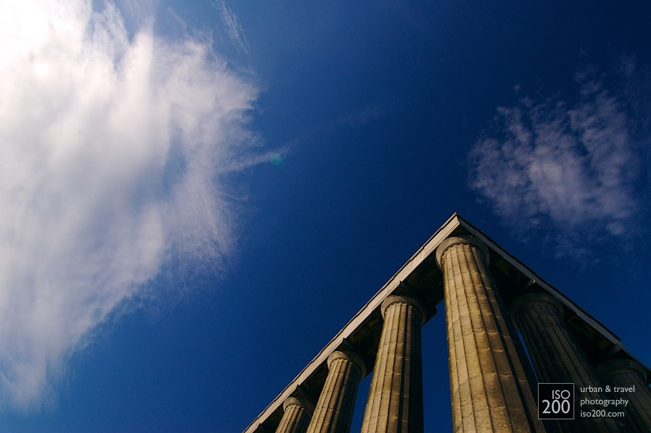 Simplicity - the National Monument, Calton Hill, Edinburgh