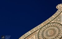 Photo blog photo: 'Color whorl – the roofline of Santa Maria Novella, Florence, Italy'