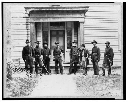 The 150th Anniversary of the US Civil War – historic photos from the Library of Congress