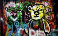 Photo blog photo: 'Unbearable graffiti'