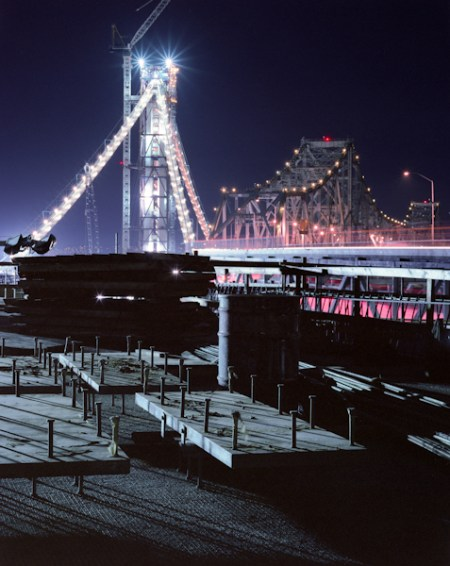Building the Bay Bridge – photography by Tom Paiva