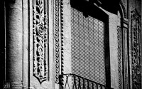 Photo blog photo: 'Carved wall and window, Granada, Spain'