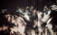 Photo blog photo: 'Dappled wooden door'