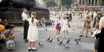 Related item: 'Colour photographs of Trafalgar Square in the 1950s'