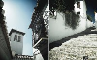 Photo blog photo: 'Albaycin street diptych'