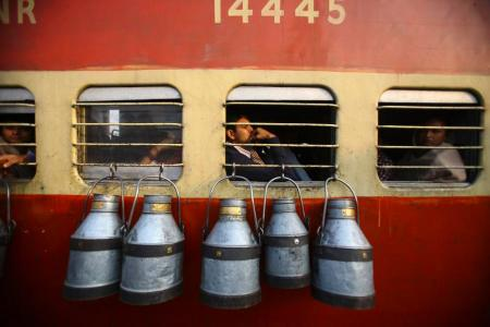 Photos: Riding the Indian Railways