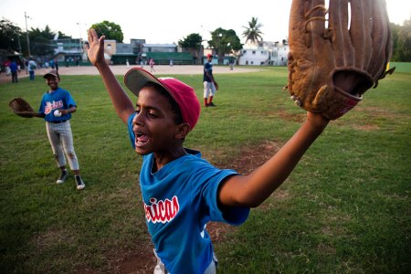 Michael Hanson: Baseball players in the Dominican Republic