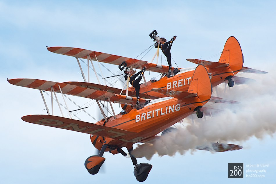 Breitling Wingwalkers at the East-Fortune Airshow 2013
