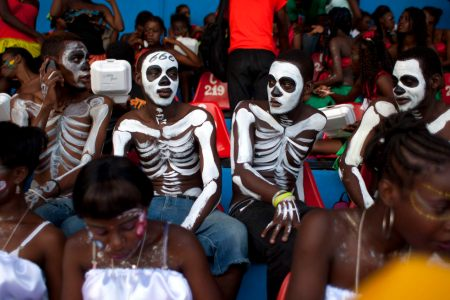 Haiti holds mid-year Carnival of Flowers festival
