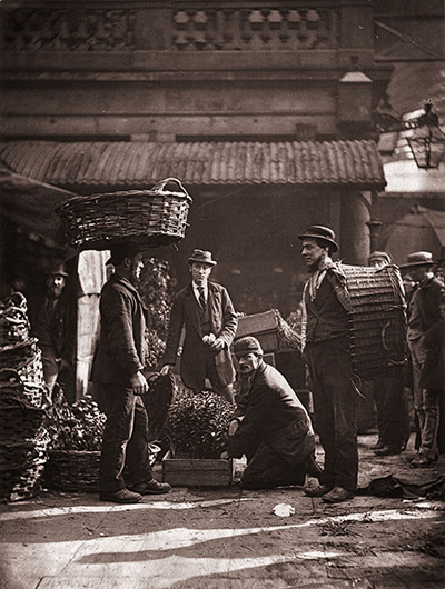 Street Life in London in 1877 – in pictures