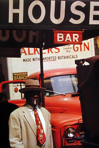 Colourful past: Saul Leiter – in pictures