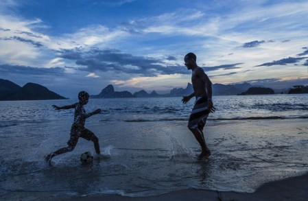 The football temple: photographs of the beautiful game in Brazil