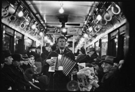 Subway Photographs by Walker Evans