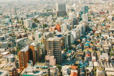 Tokyo in tilt-shift: the big city made small