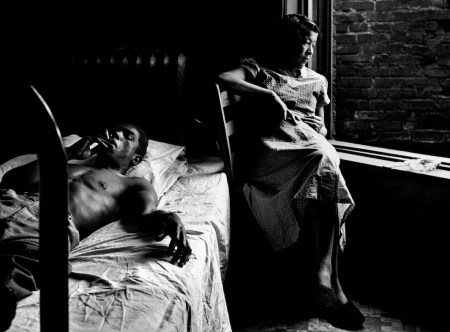 Photos by Gordon Parks of black Americans during segregation.