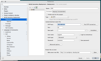 Main SFTP Configuration