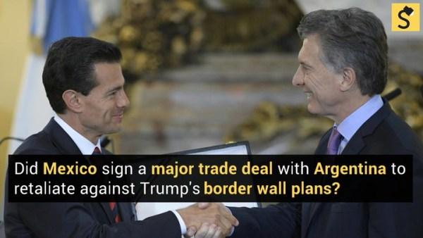 FACT CHECK: Did Mexico Sign a Major Trade Deal With ...