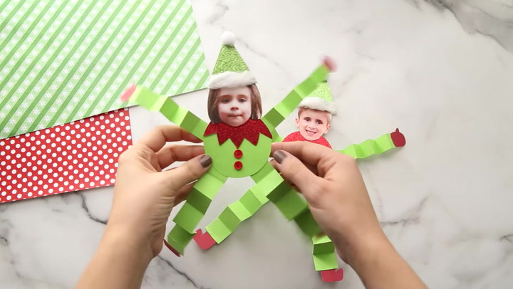 All you need to do is grab a picture of your child and our free printable template to make either the buddy the elf photo craft or jovie the elf photo craft. Paper Elf Craft The Best Ideas For Kids