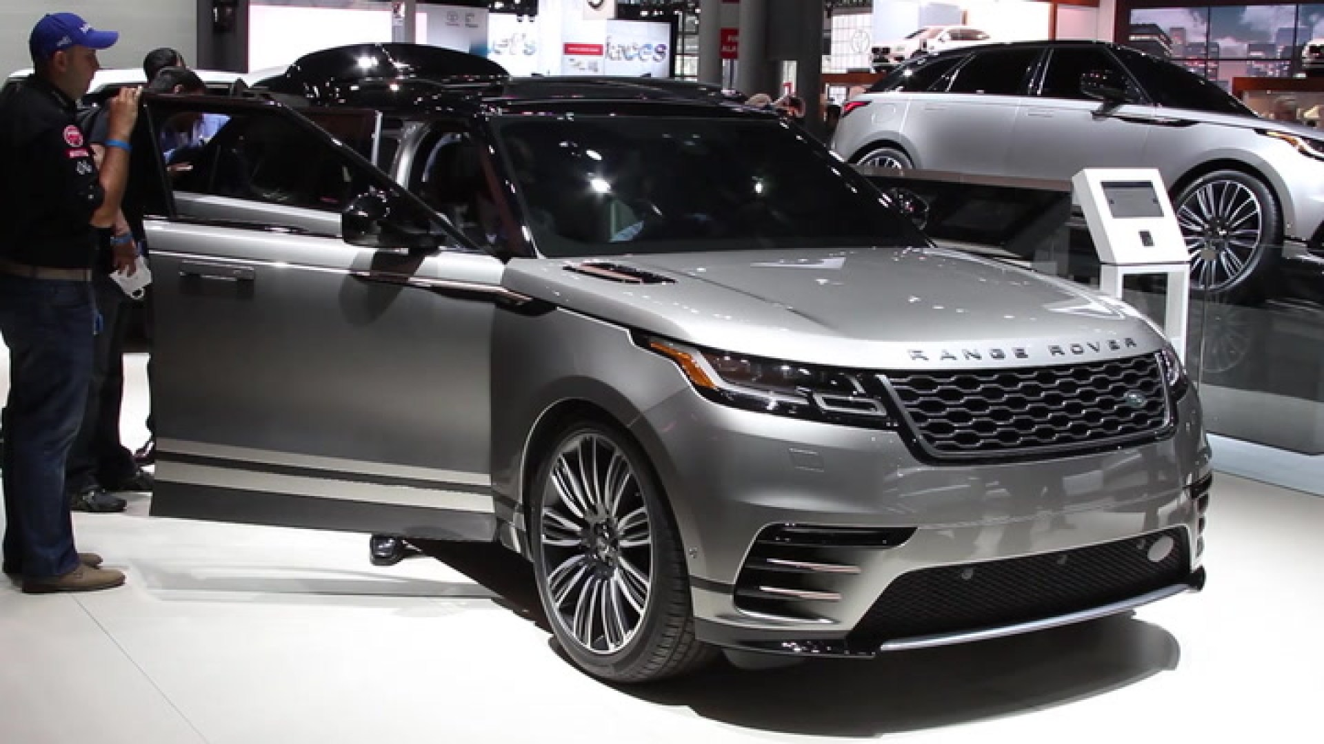 The all new Range Rover Velar dials up Land Rover s design and