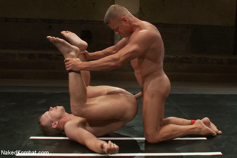 Muscle on Muscle - Tyler Saint takes on Ethan Hudson - humiliation
