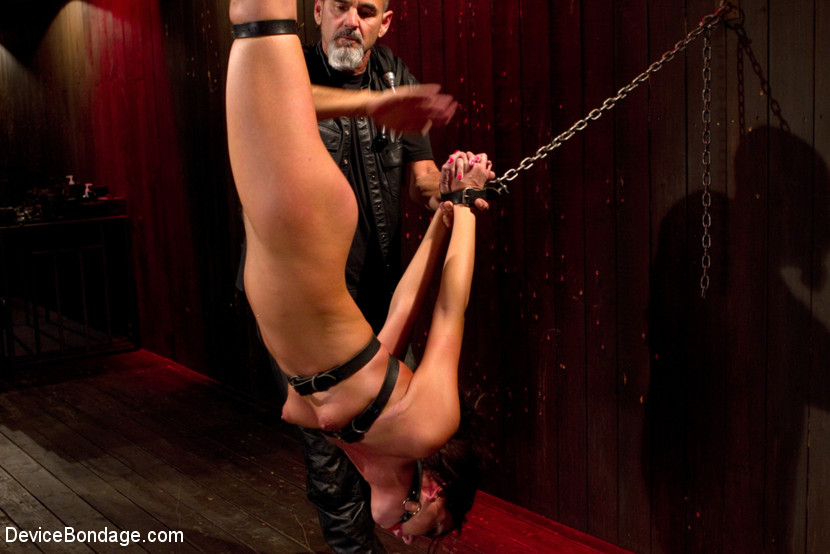 Young slut feels the wrath of inescapable devices while enduring extreme torture - Handler
