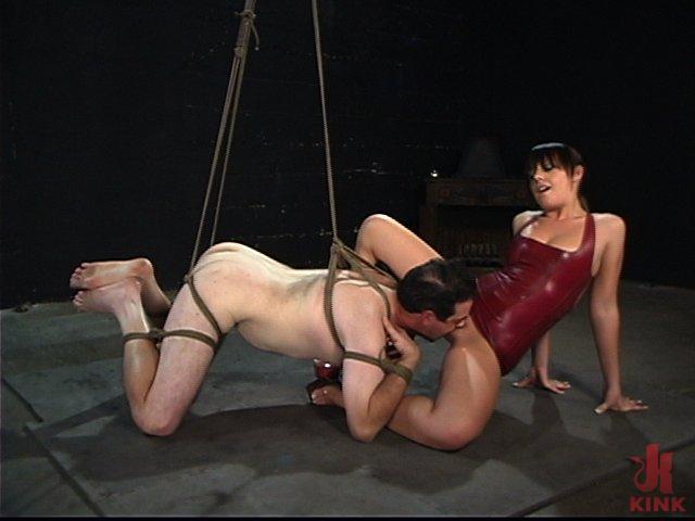 A Slave Milked - bondage