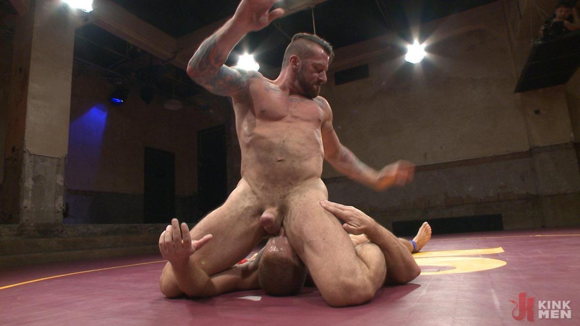 Muscle Matchup - Dirk Caber vs Hugh Hunter - humiliation
