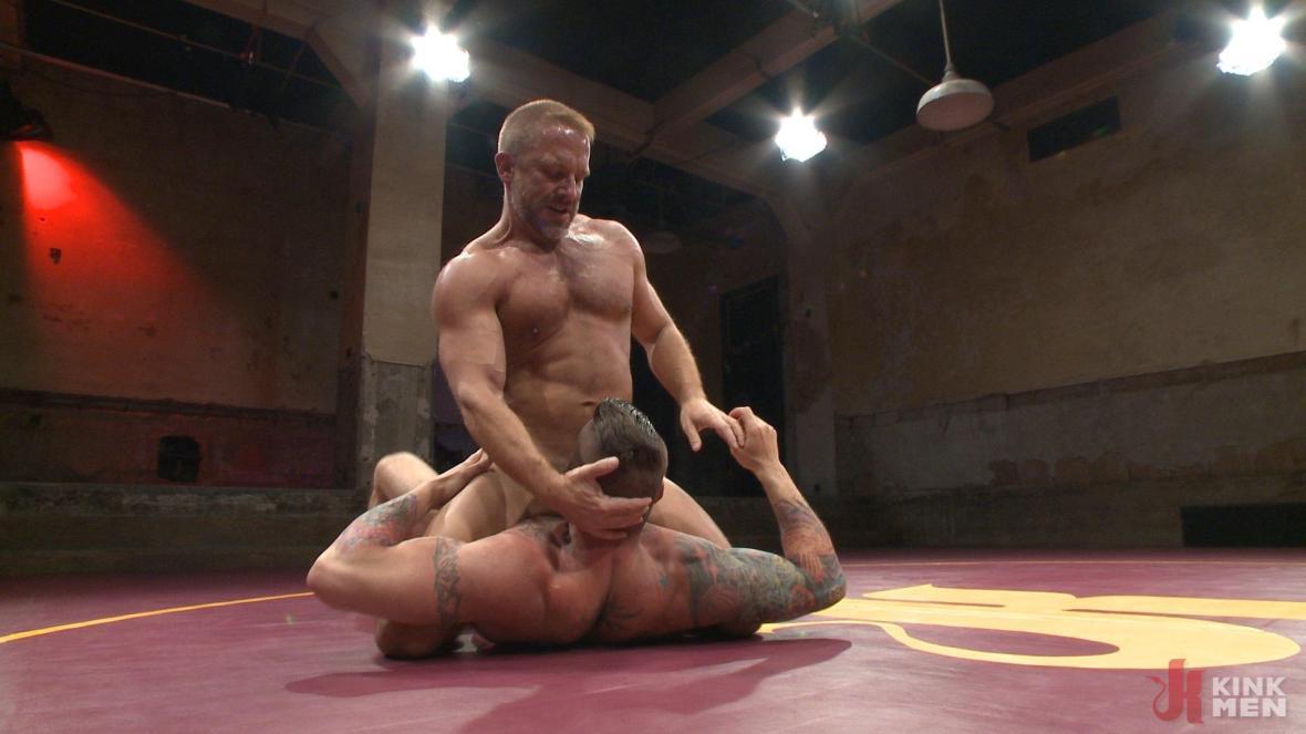 Muscle Matchup - Dirk Caber vs Hugh Hunter - wrestling