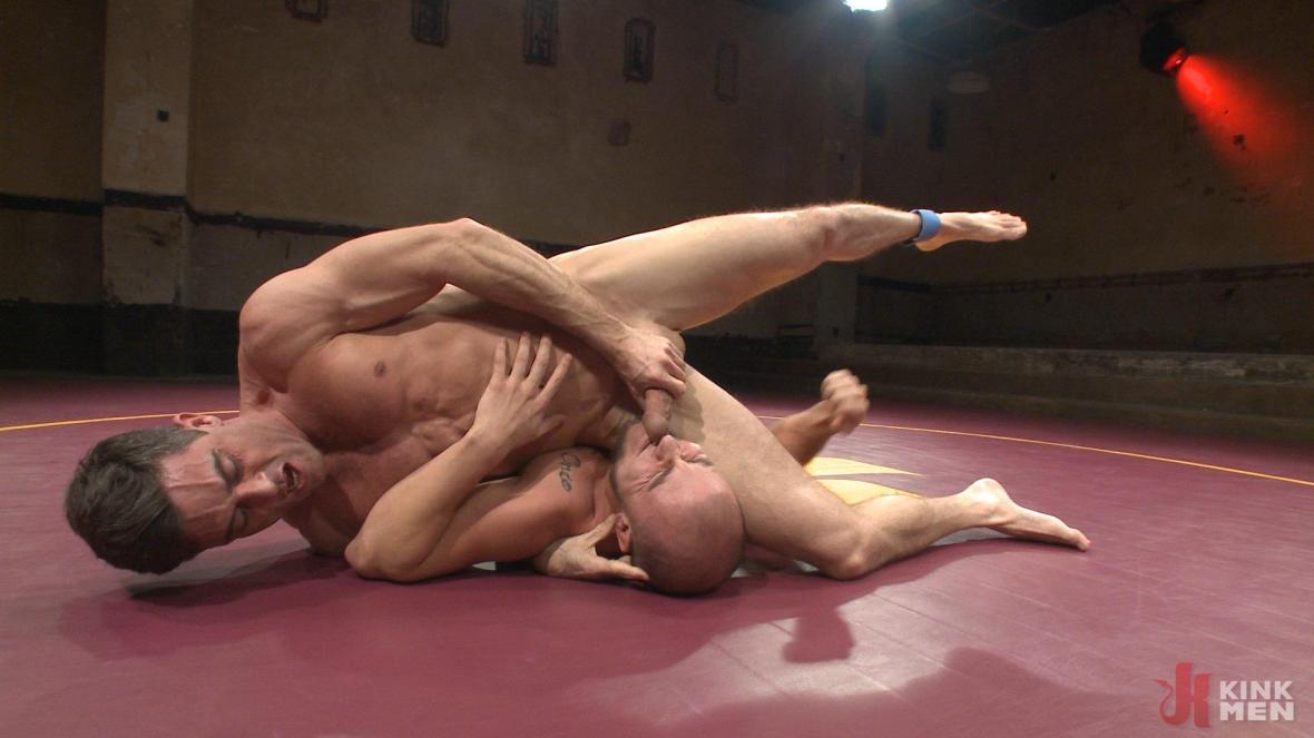 Lance Hart Tussles with Eli Hunter - blowjob