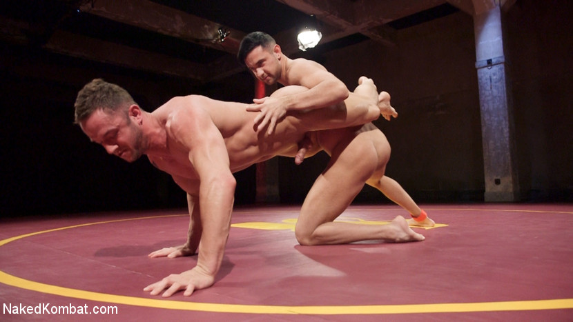 Jason Styles vs. Josh Conners: Tall beefy studs slam on the mat - wrestling