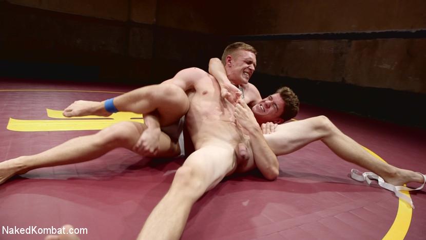 Southern Boys with Giant Cocks Wrasslin' in Oil: JJ Knight vs Zane Anders - gay
