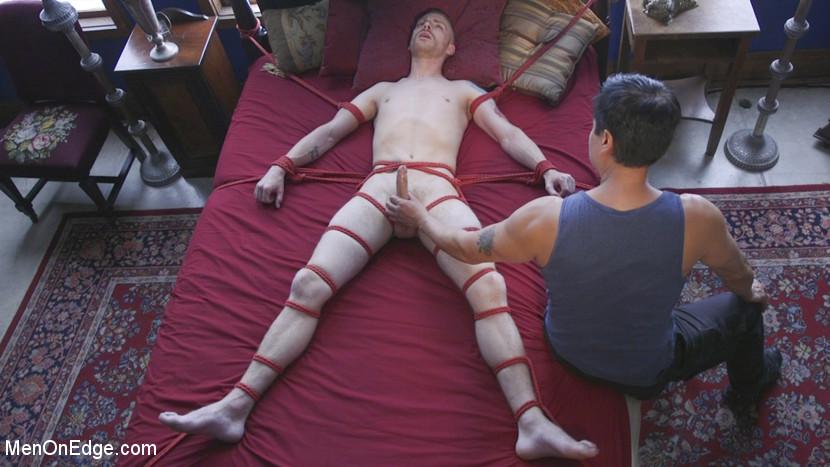 Men-on-Edgers Sebastian and Jackson Get Edged! - Male Handler