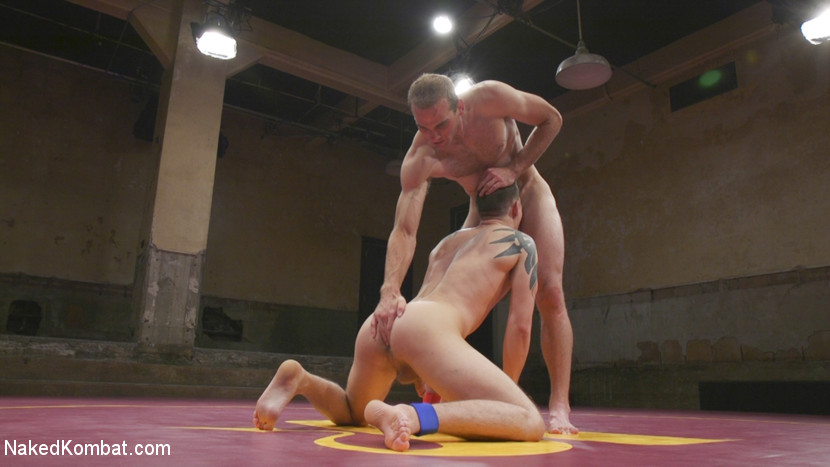 Tyler Rush takes on ripped hunk Jonah Marx - submission
