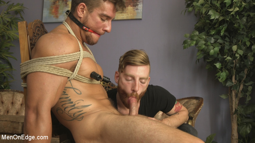 Edging Straight Boy Until He Busts a Nut Hands-Free - straight