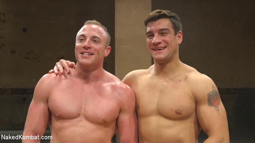 Pound for Pound - Two Muscled Hunks Battle for Sexual Domination - rimming