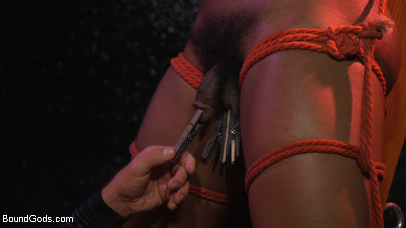 New meat Alson Caramel fisted and fucked for HustlaBall! - domination